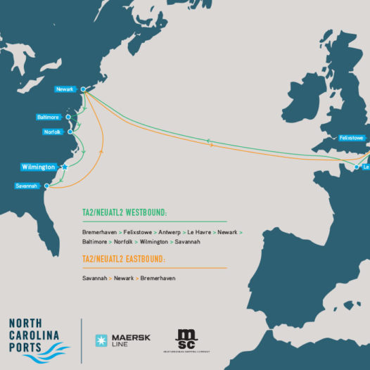 2M Alliance Transatlantic 2/NEUATL2 - European Container Service