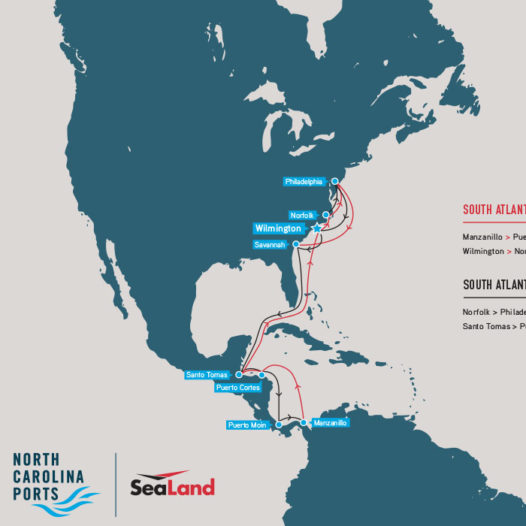 SeaLand South Atlantic Express – Latin America Container Service