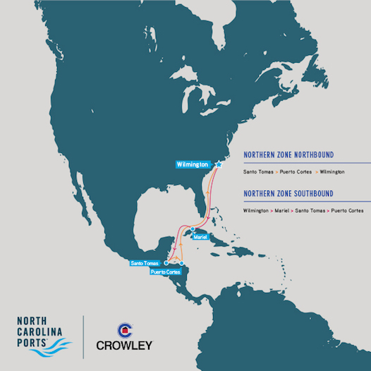 Crowley Northern Zone - Latin America Container Service