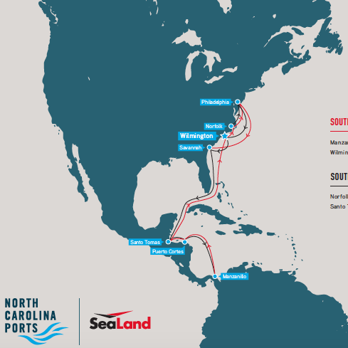 SeaLand South Atlantic Latin America Container Service Winter 2018