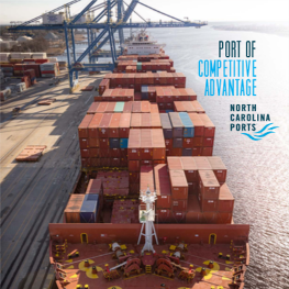 NC Ports Overview Brochure Spring 2018